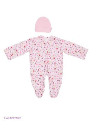 Комплект одежды ФЭСТ. Цвет: розовый, желтый