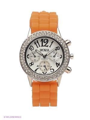 Часы Bora. Цвет: оранжевый