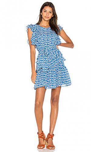 Платье emma Tanya Taylor. Цвет: синий