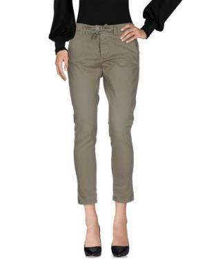 Повседневные брюки JCOLOR. Цвет: зеленый-милитари