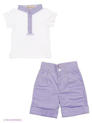 Комплект одежды Comusl. Цвет: сиреневый, белый