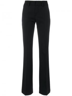 Прямые брюки Dondup. Цвет: чёрный