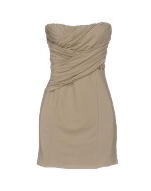 Короткое платье MET MIAMI COCKTAIL. Цвет: серый