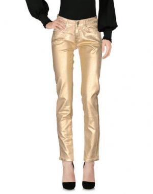 Повседневные брюки SHOP ★ ART. Цвет: золотистый