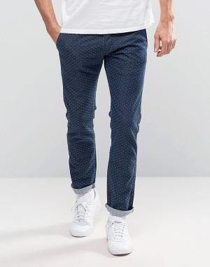 Edwin Узкие джинсы с кромкой ED-71 Red Listed. Цвет: синий
