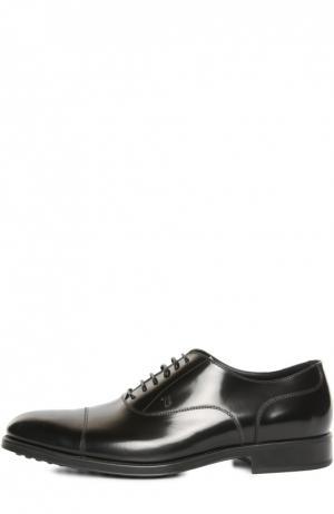 Туфли Gomma RQ Tod's. Цвет: черный