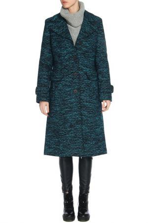 Пальто ELEMA. Цвет: синий