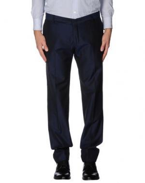 Повседневные брюки DANIELE ALESSANDRINI. Цвет: темно-синий