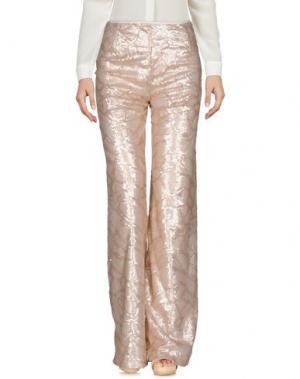 Повседневные брюки LAVINIATURRA. Цвет: светло-розовый
