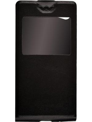 Flip Slim AW Sony Xperia Z5 Compact skinBOX. Цвет: черный
