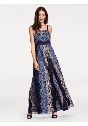 Вечернее платье Ashley Brooke. Цвет: синий