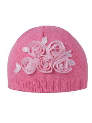 Шапка Ambra. Цвет: розовый