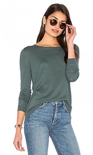 Пуловер blossom American Vintage. Цвет: зеленый