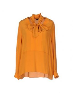 Блузка TARA JARMON. Цвет: оранжевый