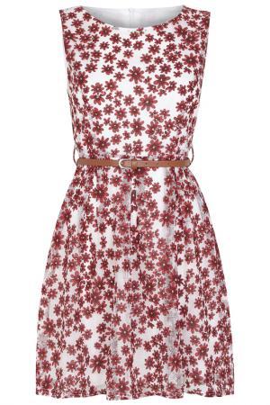 Платье Iska. Цвет: красный