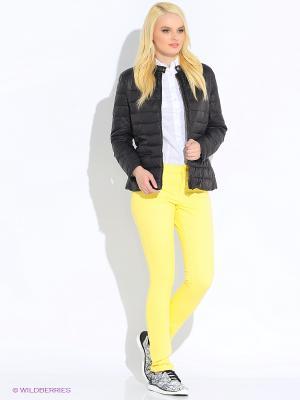 Джинсы SELA. Цвет: желтый