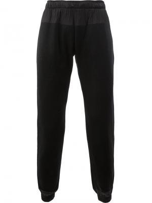 Укороченные спортивные брюки Cottweiler. Цвет: чёрный