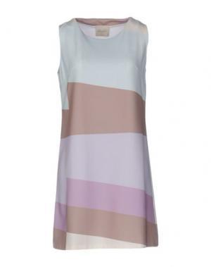 Короткое платье LOU LONDON. Цвет: сиреневый