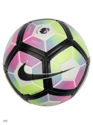 Мяч NIKE STRIKE - PL. Цвет: белый, салатовый, фиолетовый