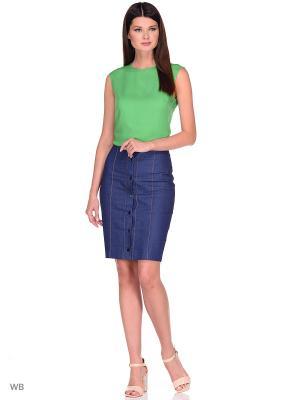 Блузка APRELLE. Цвет: зеленый