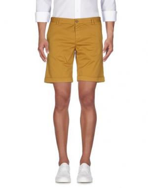 Повседневные шорты BASICON. Цвет: охра