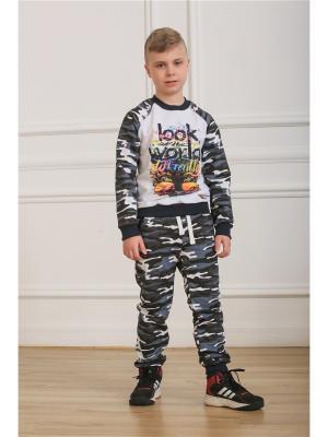 Спортивный костюм LFC. Цвет: серый, белый, темно-серый
