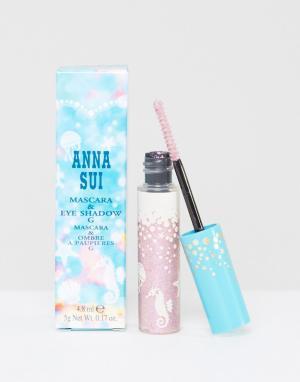 Anna Sui Средство 2 в 1 ограниченной серии виде туши для ресниц и теней. Цвет: розовый