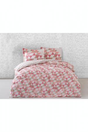 Комплект постельного белья Marie claire. Цвет: pink, white, beige