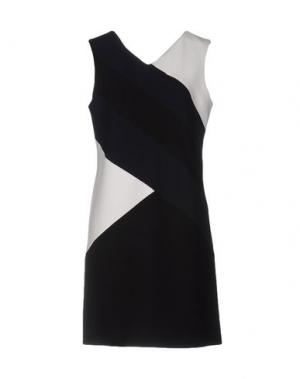 Короткое платье TARA JARMON. Цвет: темно-синий