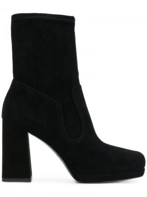 Ботинки на платформе Marc Jacobs. Цвет: чёрный