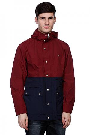 Куртка  Richardson Burg Fourstar. Цвет: синий,красный