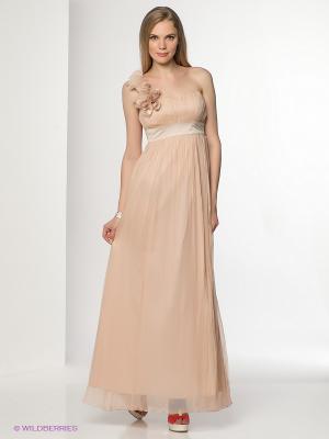 Платье Fever. Цвет: бледно-розовый