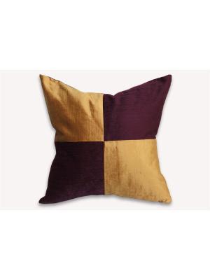 Подушка Андре РЮШАЛЬ. Цвет: фиолетовый