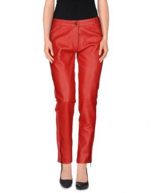 Джинсовые брюки PAULIE. Цвет: красный