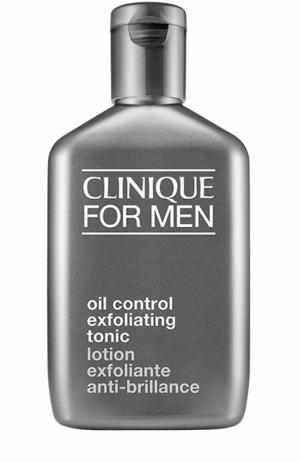 Отшелушивающий лосьон для жирной кожи Oil Control Exfoliating Tonic Clinique. Цвет: бесцветный