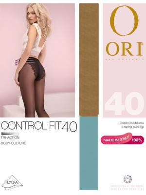 Колготки ORI Control Fit 40 den. Цвет: бежевый