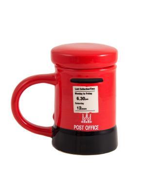 Кружка для чая Лондон Русские подарки. Цвет: белый, черный, красный