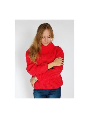 Свитер Wooly's. Цвет: красный