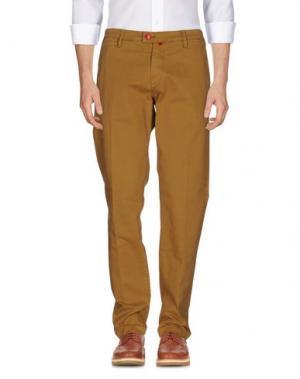 Повседневные брюки BARONIO. Цвет: верблюжий