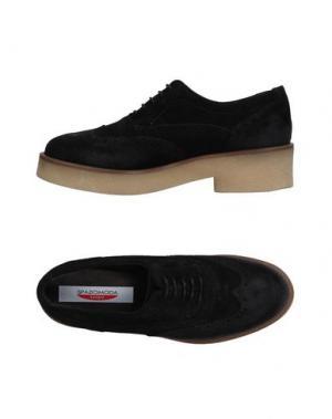 Обувь на шнурках SPAZIOMODA. Цвет: черный