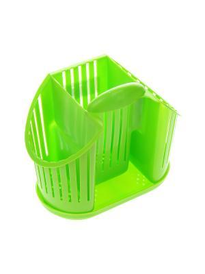 Подставка для столовых приборов Migura. Цвет: зеленый