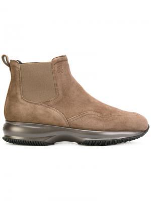 Ботинки Челси Hogan. Цвет: коричневый