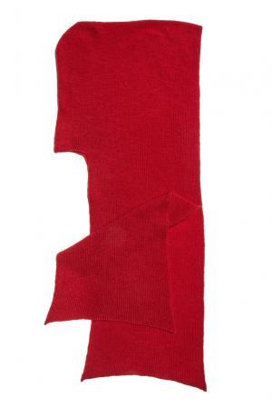 Капюшон из шерсти 153306 Norsoyan. Цвет: красный