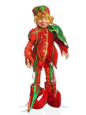 Кукла Буратино DAVANA. Цвет: зеленый, красный