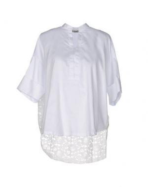 Блузка SHE WISE. Цвет: белый