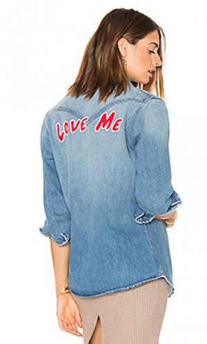 Рубашка с застёжкой на пуговицах love me Sandrine Rose. Цвет: none