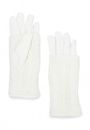 Перчатки Pur. Цвет: белый