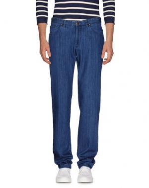 Джинсовые брюки GERMANO. Цвет: синий