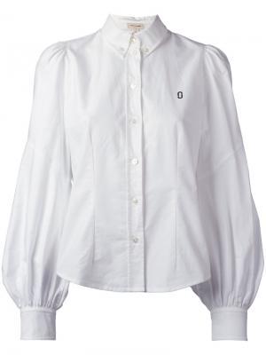 Классическая рубашка Marc Jacobs. Цвет: белый