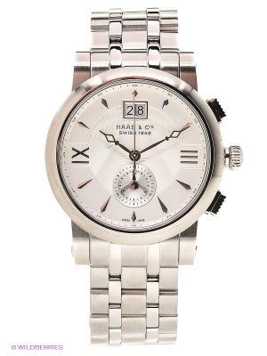 Часы наручные HAAS & Cie. Цвет: серебристый, белый